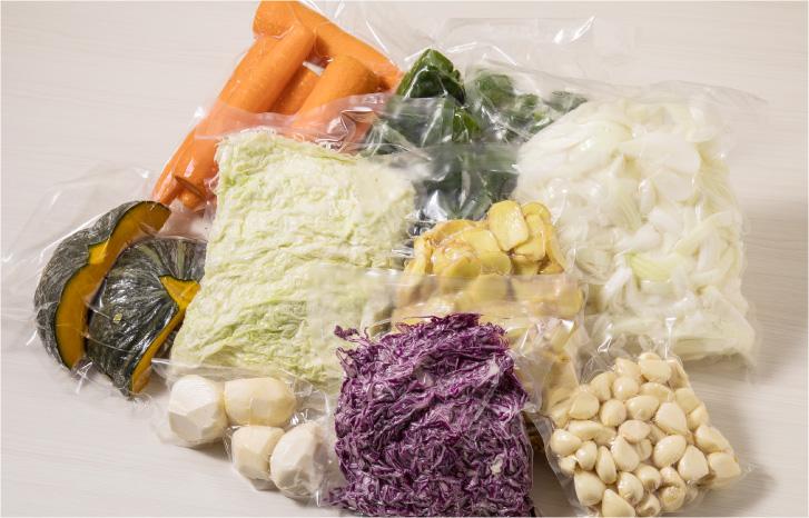 用カット野菜の加工・販売